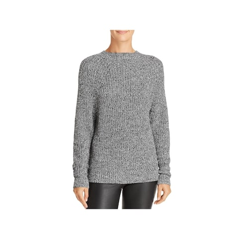 French Connection Womens Millie Crewneck Sweater Long Sleeves Pullover