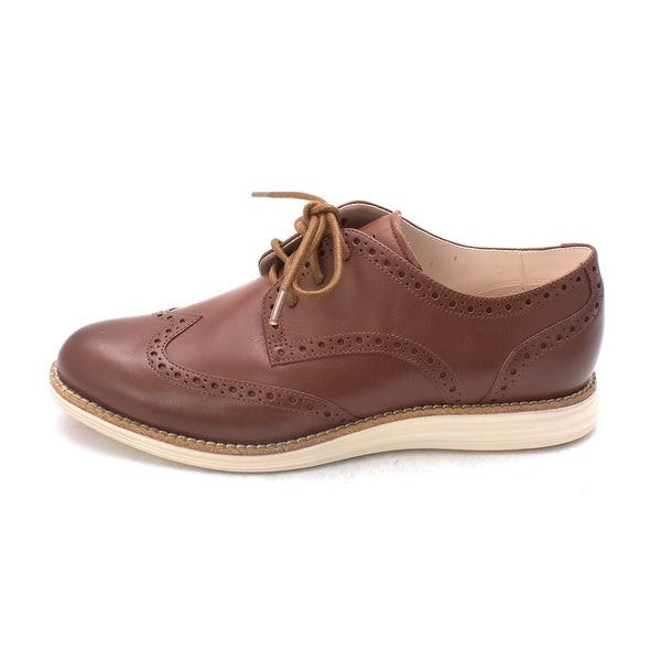 Cole Haan Womens Gerlindissam Closed Toe Oxfords