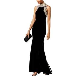 6e3ebab387676 Betsy   Adam Womens Evening Dress Cut Out Sequined · Quick View
