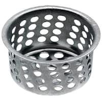 "Danco 80058 Basket Strainer, Chrome, 1-1/32"""