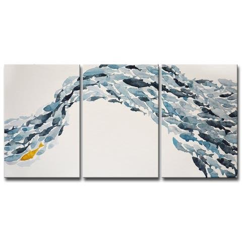 Taylor & Olive Goldfish' by Norman Wyatt Jr. Canvas Set