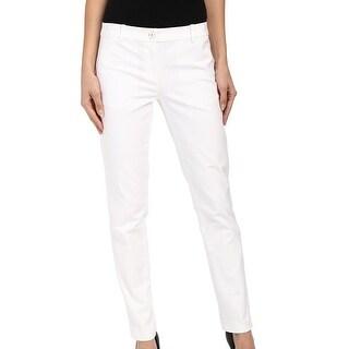 Michael Kors NEW Bright White Miranda Women's Size 14 Casual Pants