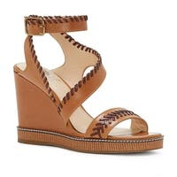 Vince Camuto Womens Ivanta Leather Open Toe Casual Platform Sandals