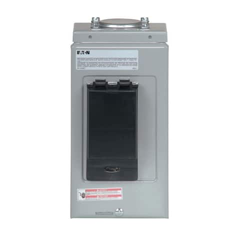 Eaton BR50SPAST Type BR Spa Panel with Self Test 2-Pole GFCI Breaker, 50A