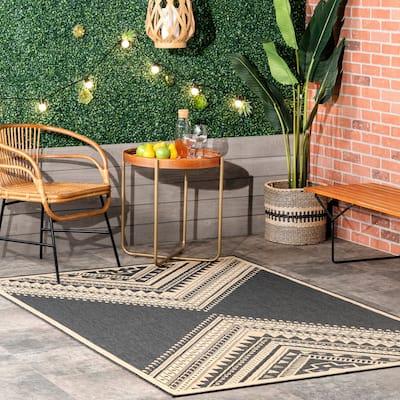 nuLOOM Landry Aztec Indoor/Outdoor Area Rug
