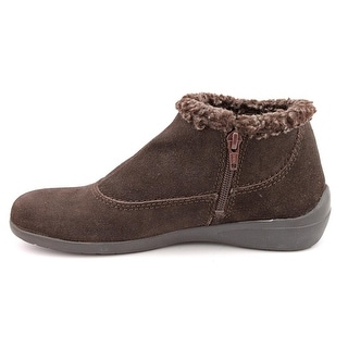 Easy Spirit Womens Icyfeet Closed Toe Ankle Fashion Boots, Dark Brown, Size 8.5