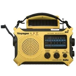 Kaito Digital Weather Radio - Ka500 Yellow