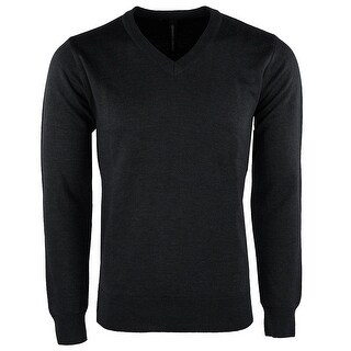 Leonardo Gavino Men's V Neck Sweater