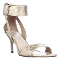 A35 Casedy Ankle Strap Dress Sandals, Gold - 7 us