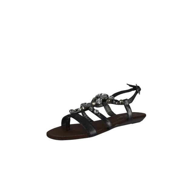 Madden Girl Women Easternn Sandals - Pewter
