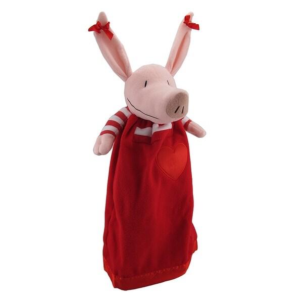Olivia the Piglet Lovie Sleepy Time Friend Security Blanket