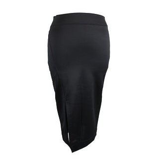 Kiind Of Caviar Slit-Front Midi Skirt S