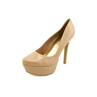 Jessica Simpson Waleo Open Toe Synthetic Platform Heel
