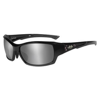 1b1e354065b Harley davidson womens rhinestone lace sunglasses gray lens black frame  halce jpg 404x404 Bling harley davidson