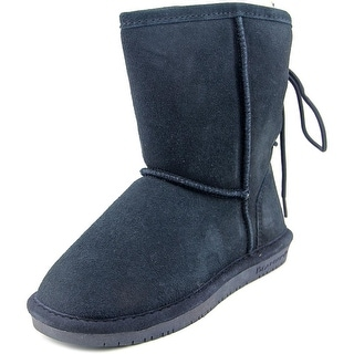 Bearpaw Elizabeth Women Round Toe Suede Blue Winter Boot