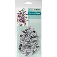 "Penny Black Cling Stamps 5""X7""-Gladsome"