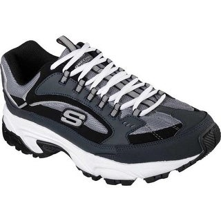 Skechers Men's Stamina Cutback Training Shoe Navy/Black
