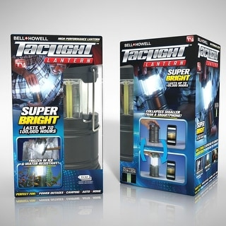 Bell + Howell Taclight Lantern The As Seen On TV Ultra Bright Portable Outdoor LED Camping Lantern