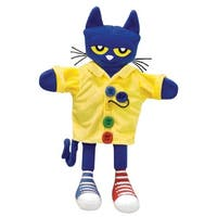 Merry Makers Pete the Cat and His Four Groovy Buttons Puppet