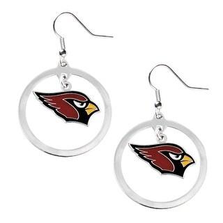 Arizona Cardinals NFL Hoop Earrings Dangle