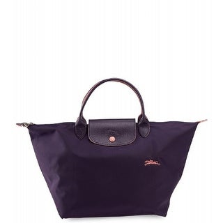 Link to Longchamp Le Pliage Navy Blue Top Handle Medium Tote Similar Items in Shop By Style