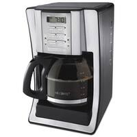 Mr. Coffee SJX39 12-Cup Programmable Coffeemaker Chrome