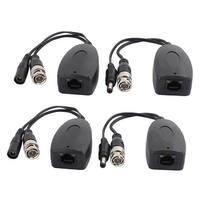 2pcs DC 24V-36V Single Channel HD Video Power Transceiver for CCTV System