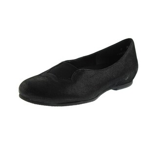 Munro American Womens Luna Shimmer Suede Round-Toe Shoes