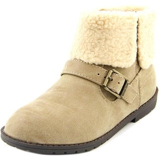 Rocket Dog Bentley Youth Round Toe Synthetic Tan Ankle Boot