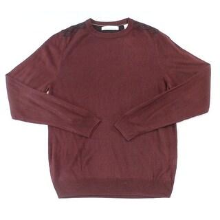 Ryan Seacrest Distinction NEW Red Men Size XL Pullover Crewneck Sweater