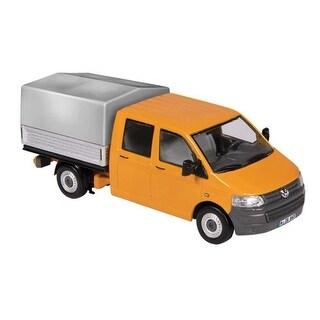 Volkswagen T5 Crew Cab Pickup Truck, Orange