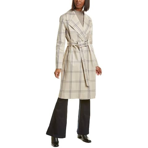 Lafayette 148 New York Sicily Wool-Blend Coat