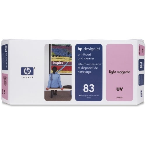HP 83 Light Magenta DesignJet UV Printhead & Printhead Cleaner (C4965A) (Single Pack)