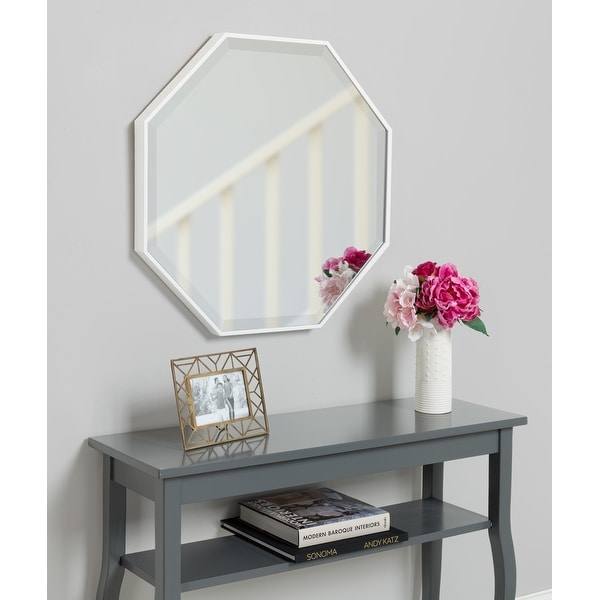 Rhodes Modern Octagon Wall Mirror. Opens flyout.