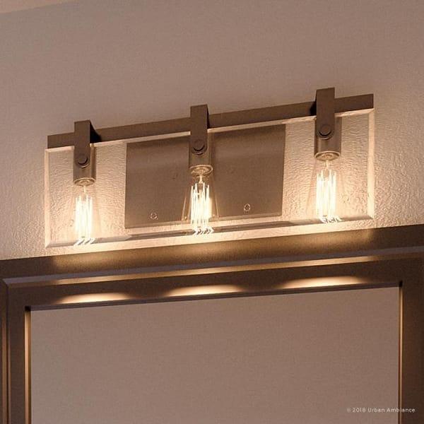Luxury Modern Farmhouse Bathroom Vanity Light 8 38 H X