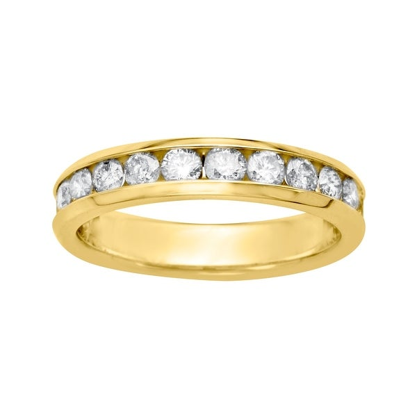 1 ct Diamond Anniversary Band Ring in 14K Gold