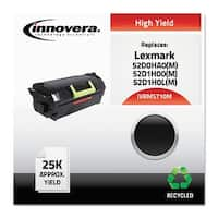"""Innovera Remanufactured 52D0HA0 (MS710M) MICR Toner, Black Remanufactured 52D0HA0 (MS710M) High-Yield MICR Toner, Black"""