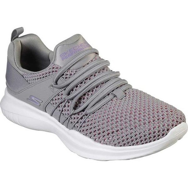 13e3966281ae Shop Skechers Women s GOrun Mojo Upswing Slip-On Running Shoe Gray ...
