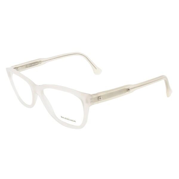 Balenciaga BA5002/V 038 Crystal Rectangular prescription-eyewear-frames - 53-15-140