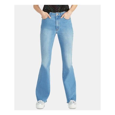 RACHEL ROY Womens Blue Flare Jeans Size 30 Waist