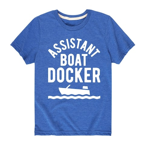 Assistant Boat Docker - Boys Short Sleeve T-Shirt