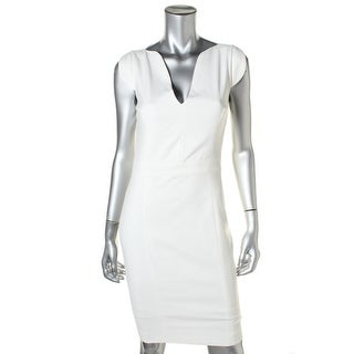 French Connection Womens Woven Cap Sleeve Cocktail Dress - 12