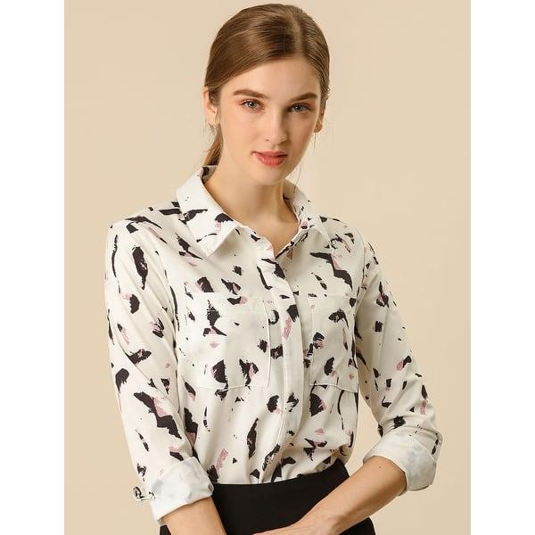 Womens Solid Velvet Turn-Dowm Collar Shirt Long Sleeve T-Shirt Button Tops Blouse