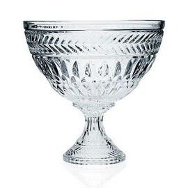 "Godinger Symphony Crystal Footed Bowl 11"""