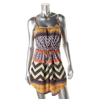 Sanctuary Womens Printed Mini Sundress