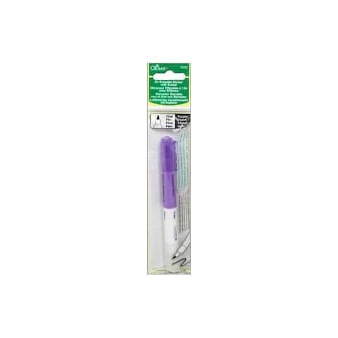 Clover Air Erasable Marker Fine w/Eraser Purple