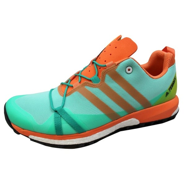 Adidas Women's Terrex Agravic Core Green/Black-Easy Orange BB0974 Size 10.5