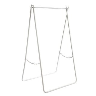 happimess HPM8004A Noah 37-3/8 Inch Wide Foldable Garment Rack