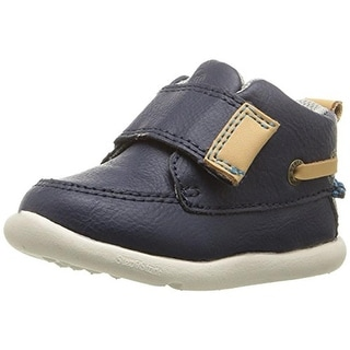 Step and Stride Boys Herbert Toddler Faux Leather Casual Sneakers - 5 medium (d)