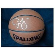 Signed Mobley Cuttino Spalding IndoorOutdoor Basketball autographed